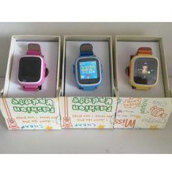 Детские смарт часы Q80