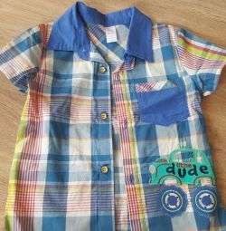 Shirt for a boy 98r 2-3g