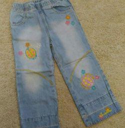Jeans pentru fata de 92 de mărimi