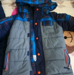 Winter suit for a boy