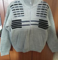 Gray cardigan with cardigans. new