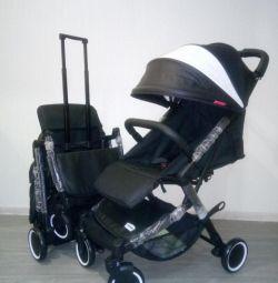 Нова дитяча коляска трансформер 2в1 Oley