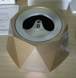 New bluetooth golden crystal speaker