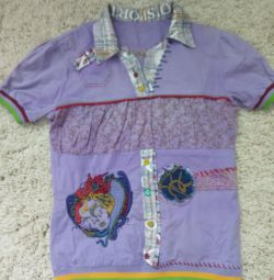 body shirt with embroidery