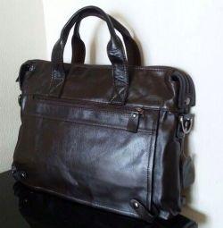 Erkek deri çanta