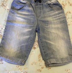 Pantaloni scurți de blugi pentru copii