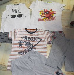 Shorts + T-shirts Package