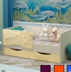 Παιδικό κρεβάτι Dolphin
