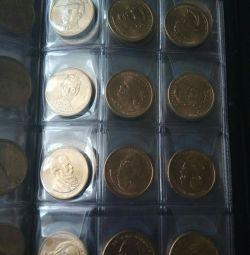 Монети США / президенти і парки