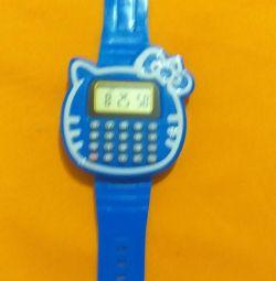 Ceas pentru copii + calculator