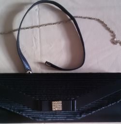 Clutch bag dark blue new