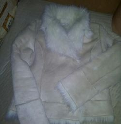 Sheepskin coat of wives.