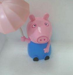 Новый Светильник детский свинка Пеппа 378980