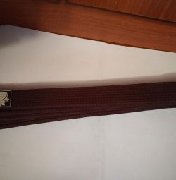 Brown belt 320 cm