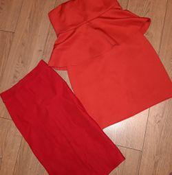 Сукня жіноча і спідниця олівець