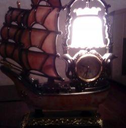 Clock-lamp