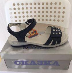 Peri kızı masalı sandaletler