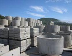 O gamă largă de produse din produse din beton.