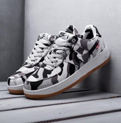 Nike Air Force 1 Χαμηλά πάνινα παπούτσια