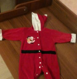 New Year's costume for Santa Claus