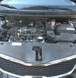 εξοπλισμού κυλίνδρων αερίου στο Kia Cerato