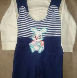Overalls for the boy NEW!
