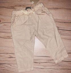 Pantaloni Zara pentru copiii cu vârsta între 9 și 12 luni