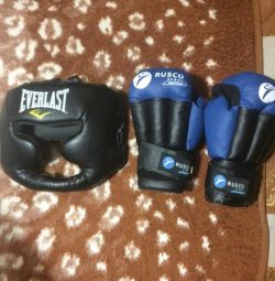 selling gloves, helmet for adults
