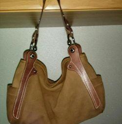 Femei sac, piele de căprioară