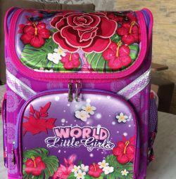 Рюкзак ранець шкільний ОРТО «World Little Girl