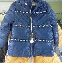 куртки новые р- 1-5 лет