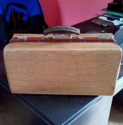 Valiză valiză făcută în URSS