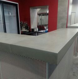 Concrete Countertops and Sinks