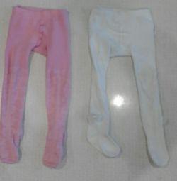 Pantyhose size 92 per girl.