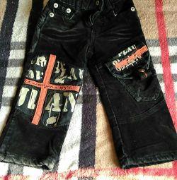 Pantalonii se împletesc pe băiat, râul 87-92