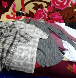 Shirts shirts. 46-48