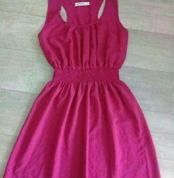 Платье летнее алое
