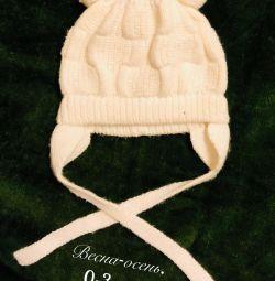Pălării capace 0-3 luni