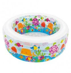 Children's pool, inflatable bottom, 152x56 cm, 58480