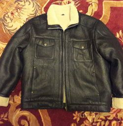 Sheepskin coat man's size 50-52