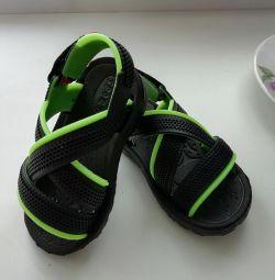 Διαφάνειες στο μωρό Velcro