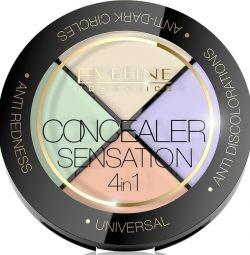 EVELINE CONCEALER SENSATION Professional. set