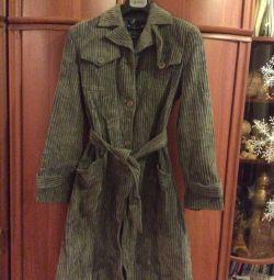 Пальто вельвет по маркировке р 48