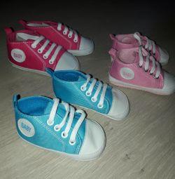 Pantofi noi de la 11 până la 13 cm