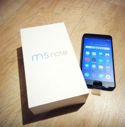 Smartphone MEIZU M5 Σημείωση
