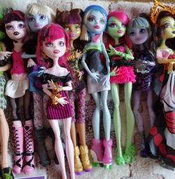 Monster High dolls. Price for the entire collection.