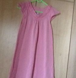 Dress new cotton for 13-14 years 164 cm