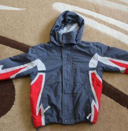 Демисезонная куртка, 120-128 см.