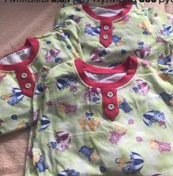 Pijamale de dormit 6,7,8 ani