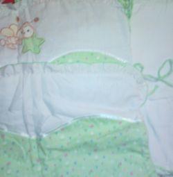 Детский комплект на кроватку